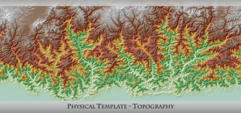 Physical Template - Topography
