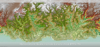 Ministry of Agriculture Landcover 1993-1994